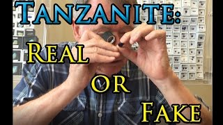How to Tell if Tanzanite is Real or Fake