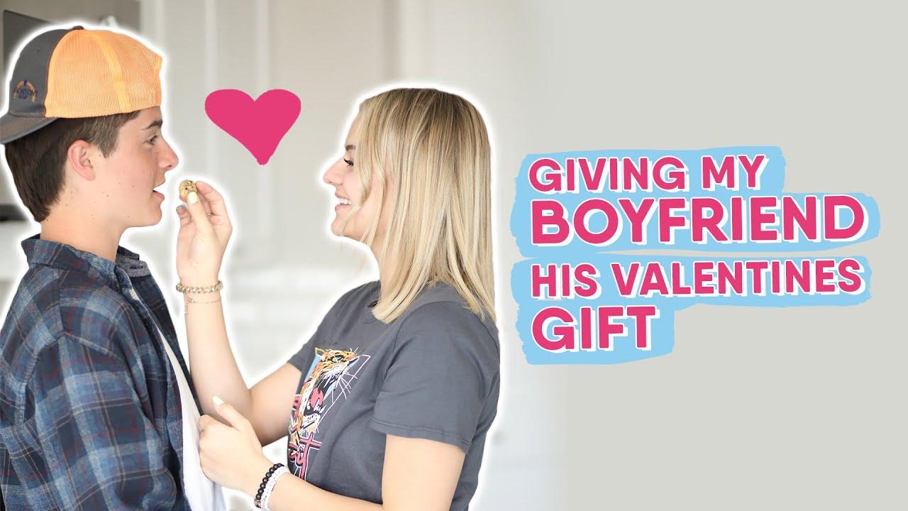 Boyfriends Reaction To Surprise Gift || Kesley Jade LeRoy