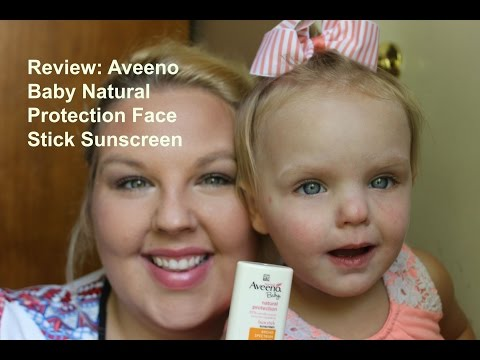 Review: Aveeno Baby Natural Protection Face Stick Sunscreen