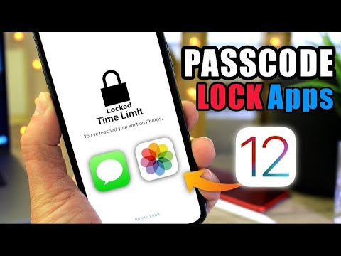PASSCODE Protect individual Apps in iOS 12