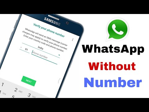 How To Use WhatsApp Without Any Number/बिना किसी No. के WhatsApp का Use कैसे करें/Android Tech Guru