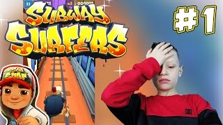 Subway Surfers #1 - escaping the police and his vicious dog | KID GAMING