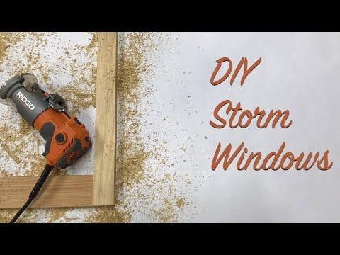 DIY Storm Windows