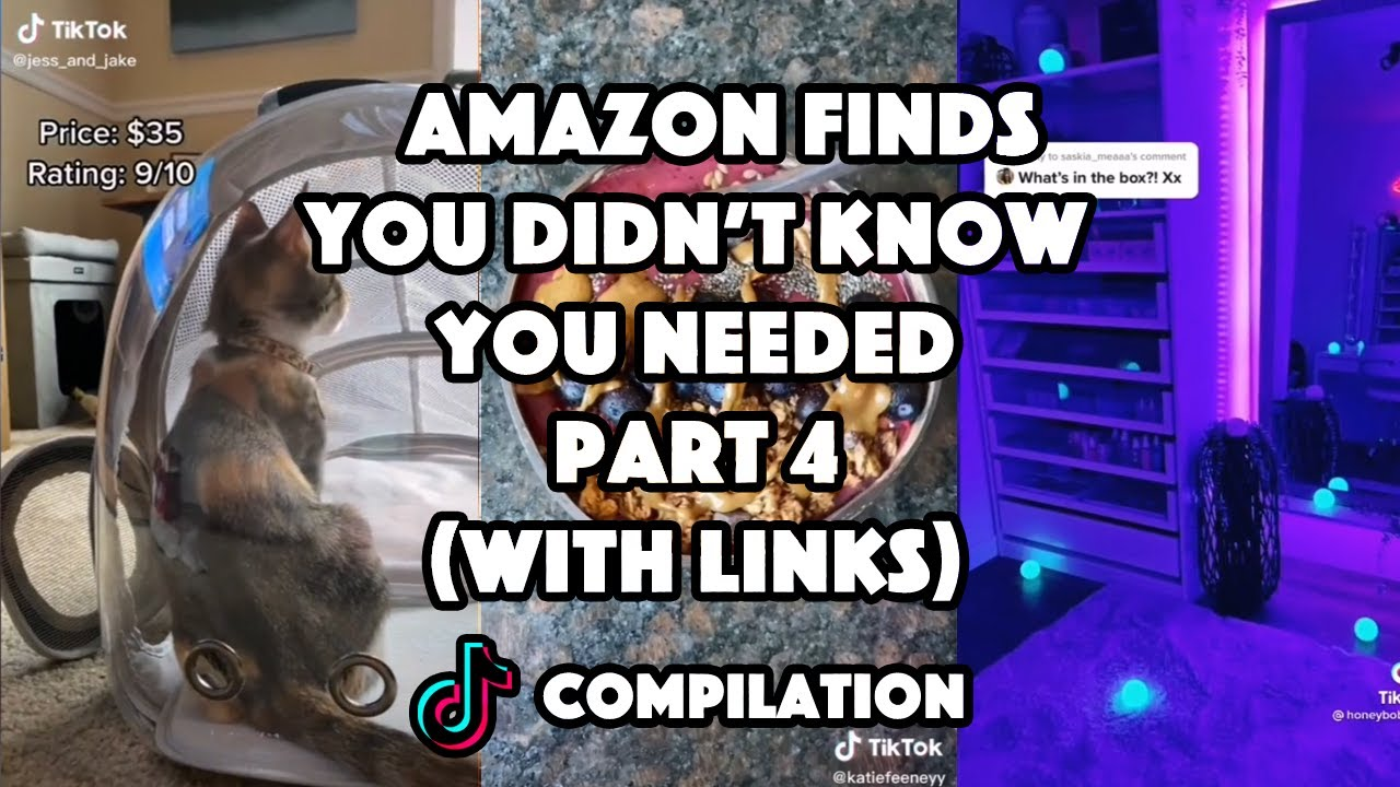 Amazon Finds You Didn't Know You Needed (with links) Part 4  TikTok Compilation