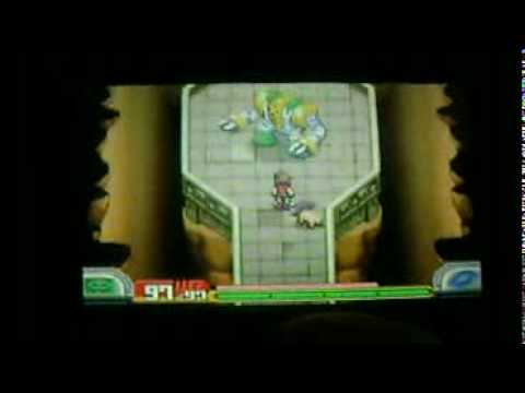 Pokemon: Shadows of Almia Catching Regigigas Part 2
