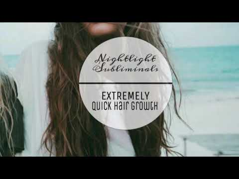 Grow Long Hair in Seconds •Subliminal•