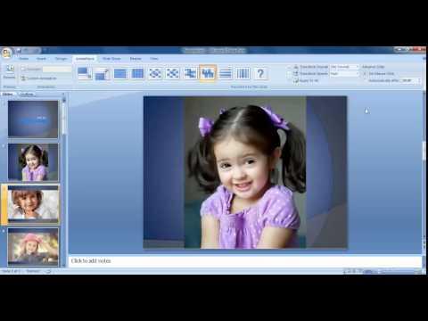 Photo Album In Microsoft Powerpoint -2007  Tamil