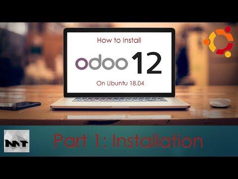 How To Install Odoo 12 on Ubuntu 18.04