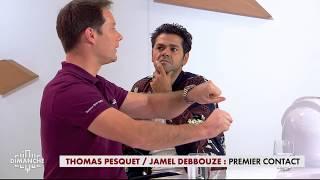 Thomas Pesquet / Jamel Debbouze : premier contact  - Clique Dimanche du 10/12 - CANAL+