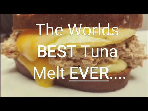 The Worlds BEST Tuna Melt EVER...