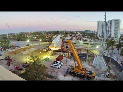 FIU-Sweetwater Bridge Move - Full Time-Lapse