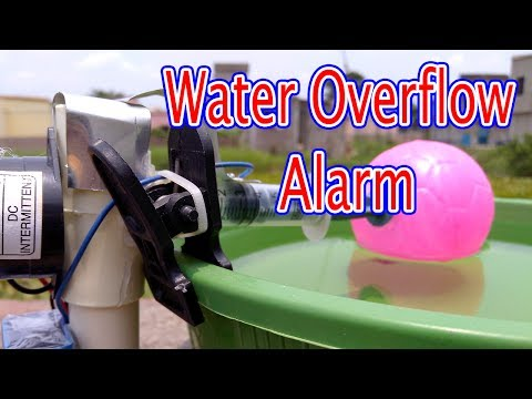 Water Overflow alarm | How to make