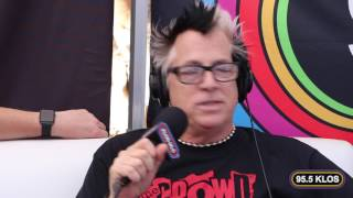 Frosty, Heidi & Frank interview the Offspring at Sabroso Taco Fest