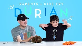 Parents & Kids Try Durian Together   Kids Try   HiHo Kids
