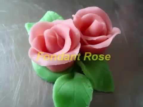 Easy Fondant Rose