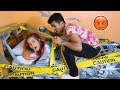 Duct Tape My Girlfriend To The Bed Prank  She Went Off