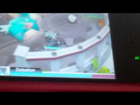 legendary pokemon cobalion (in pokemon rumble blast)