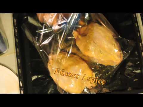 Egész csirkemell sütőzacskóban (rövid változat)