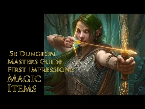 D&D 5e Magic-Item Over View| Dungeons and Dragons 5th Edition Dungeons Masters Guide