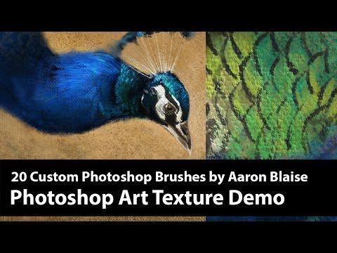 Photoshop Texture Brush Demo