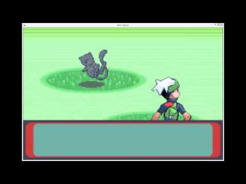 Live Shiny Mew in Japanese Emerald on actual hardware captured with DS capture card w/ Tyninja