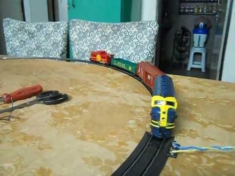 My Rail Charger model train set First test run part 1