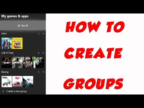 Organize Xbox Dashboard With Groups - Available For All Alpha May 24th 2018