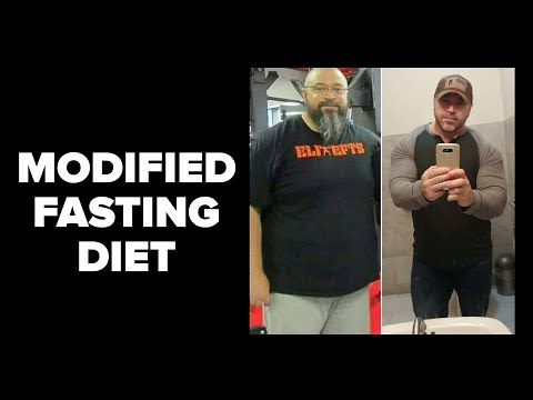 My NEW Modified Fasting Diet - Lose Fat, Eat Big