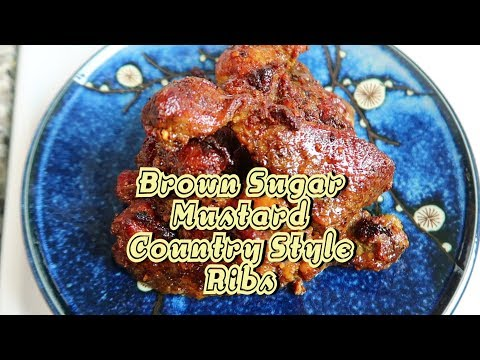 Easy Fast Brown Sugar & Mustard Country Style Ribs - Easy Recipe Eps 59