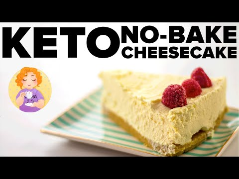5 Ingredient No Bake Keto Cheesecake || 96% Fat Bomb!!!