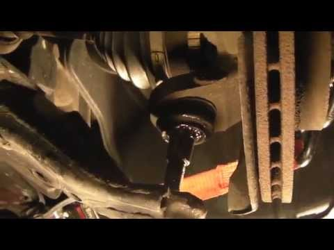 2002 Honda Civic Front Control Arm Ball Joint Removal