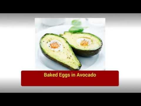 01  Baked Eggs in Avocado | breakfast ideas for diabetics | diabetic breakfast recipes