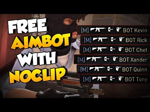 CS:GO - FREE AIMBOT using Noclip with this INSANE BUG?!