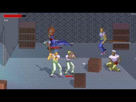 Unity 3D Brawler 2D - Logbook Parte 11 (Beat' em Up)