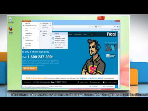 How to make Mozilla® Firefox the default browser on Windows® 8 PC