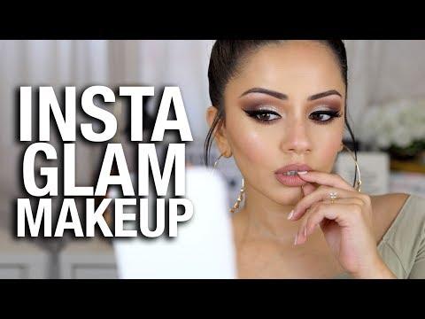InstaGLAM Instagram Makeup Tutorial using INSTAGRAM Makeup!!