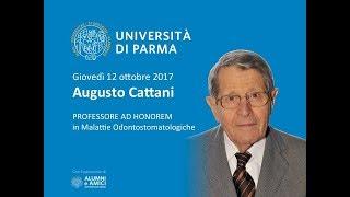 Augusto Cattani nuovo professore ad honorem dell'Università di Parma - 12/10/2017