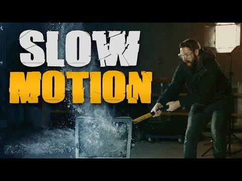 Breaking Things In Super Slow Motion