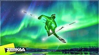 GLOW IN THE DARK SKIING (Steep Multiplayer)