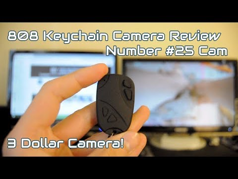 Keychain Camera for 3$? - #25 Cam Review (Fake