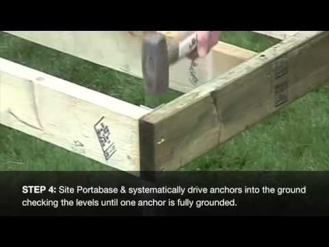 Building Your Wooden Shed Base