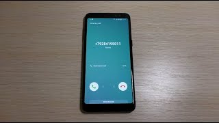 Samsung Galaxy A8 2018 incoming call