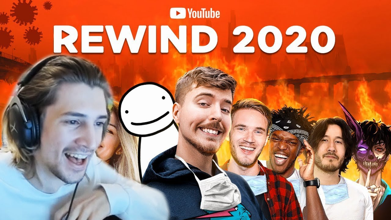 xQc Reacts to Youtube Rewind 2020, Thank God It's Over (MrBeast)