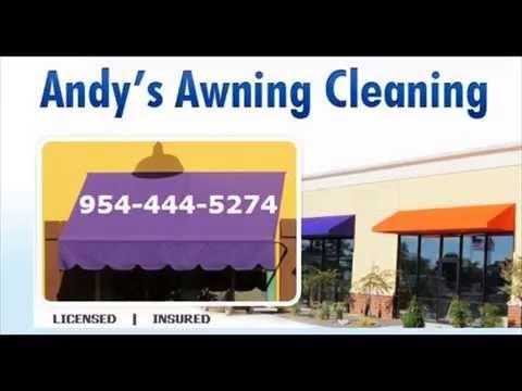 Awning Cleaner (954) 444-5274 Miami Fort Lauderdale Broward Boca Raton