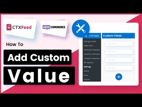 How to add custom value to an Attribute using pattern? - WooCommerce Product Feed