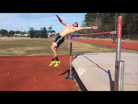 High Jump Specific Weight Lifting