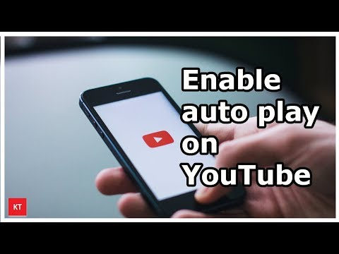 How to enable auto play of videos on YouTube app