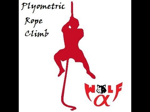 Plyometric Rope Climb Functional Fitness