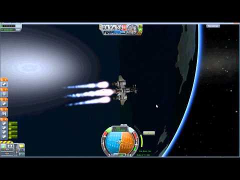 Geostationary Orbits in Kerbal Space Program