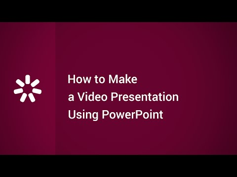 How to Make a Video Presentation Using PowerPoint